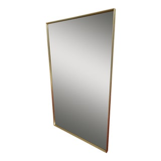 John Stuart Mid-Century Beveled Glass Mirror