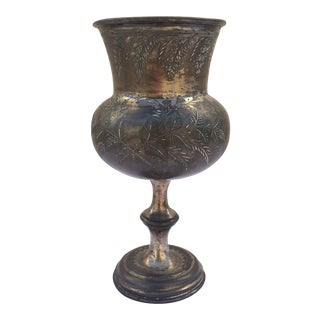 Antique Silver Plate Chalice