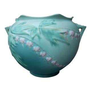 Roseville Bleeding Heart Jardiniere Vase