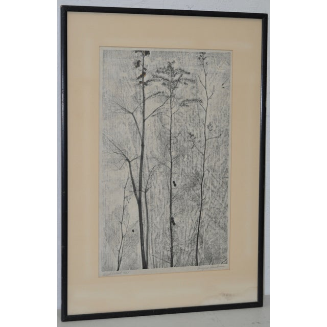 Image of Eugene Larkin Weed Forest No. 1 Woodcut, C.1960