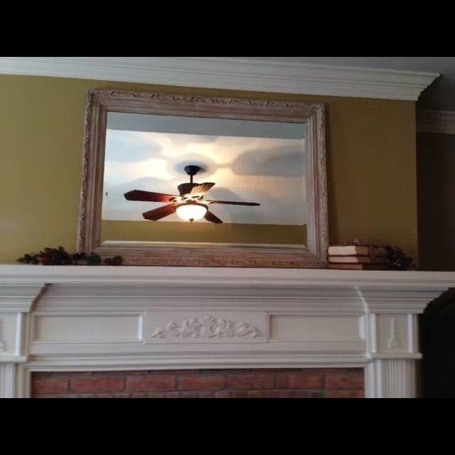 Ornate Wood Framed Beveled Mirror - Image 5 of 7