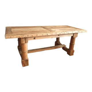 Restoration Hardware Salvaged Wood Extension Dining Table