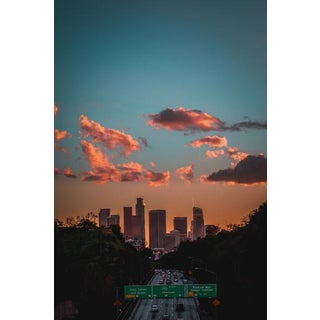 Jason Mageau Downtown Los Angeles Sunset Photograph