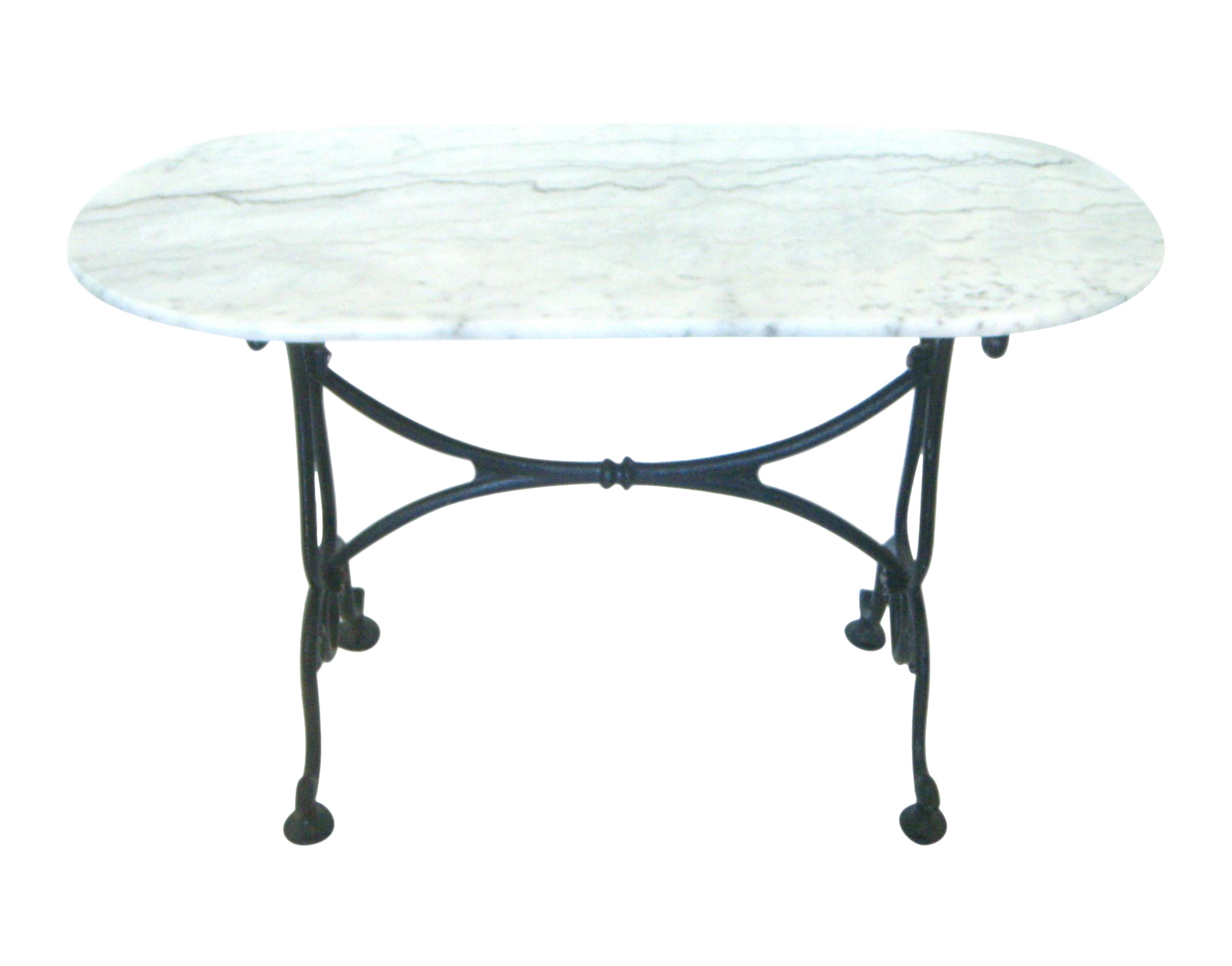 White Italian Marble Console/Bistro/Dining Table