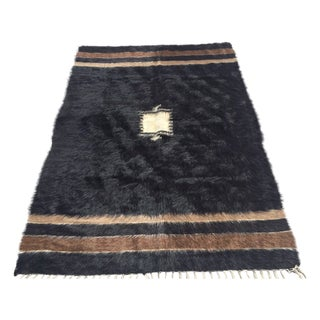 Turkish Handmade Tulu Rug - 4′6″ × 6′6″