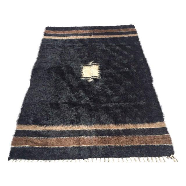 Turkish Handmade Tulu Rug - 4′6″ × 6′6″ - Image 1 of 8