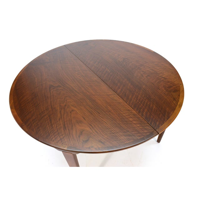 Rosengren Hansen Round Walnut Dining Table - Image 3 of 9