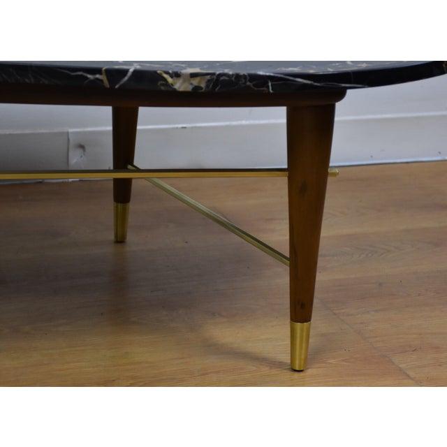 Portoro Black Marble Italian Coffee Table Chairish