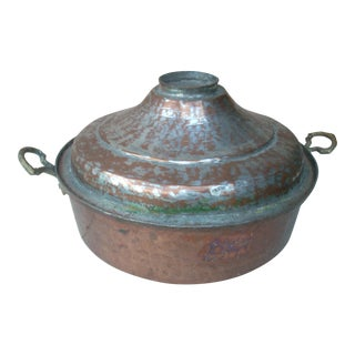 Turkish Copper Covered Pan