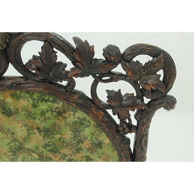 19th Century Black Forest Carved Fireplace Screen - Image 4 of 6