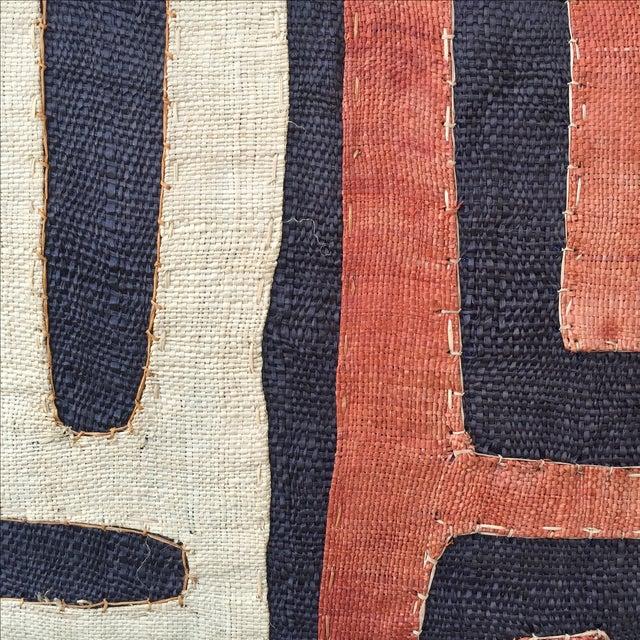 Image of African Kuba Cloth Pillows - Pair