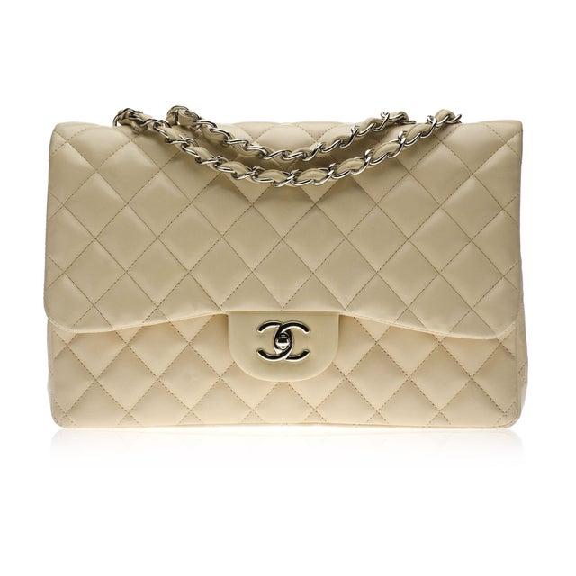 Image of Chanel Tan Jumbo Flap Handbag