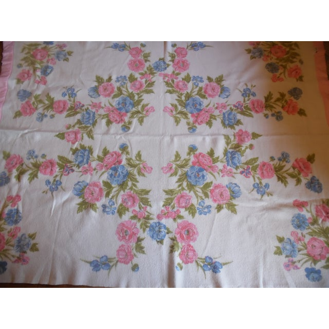 Vintage Shabby Chic Blanket - Image 5 of 5