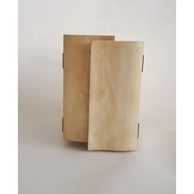 R & Y Augousti Wood & Shagreen Jewelry Box - Image 3 of 9