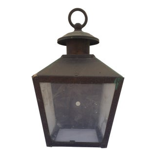 Petite Rustic Wall Mounted Outdoor Light
