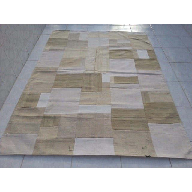 """Bohemian Patchwork Rug -- 5'6"""" x 7'6"""" - Image 2 of 6"""