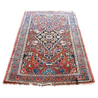 "Vintage Modern Persian Rug - 1'0"" x 2'2"""
