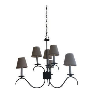 Restoration Hardware 6-Arm Chandelier