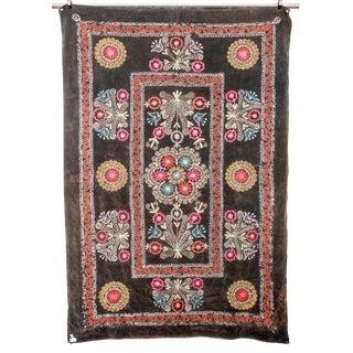 Embroidered Vintage Velvet Suzani