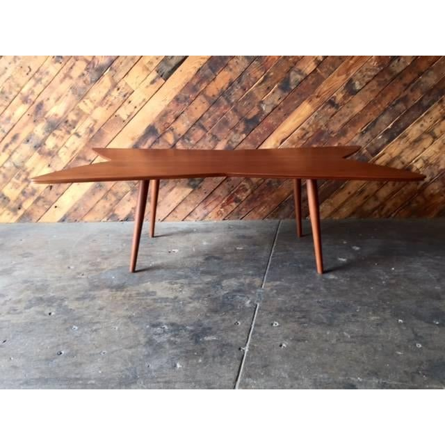 Mid-Century Bow Tie Coffee Table - Image 4 of 6