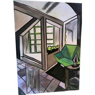 """The Vestibule"" Painting by Joann Bermann"