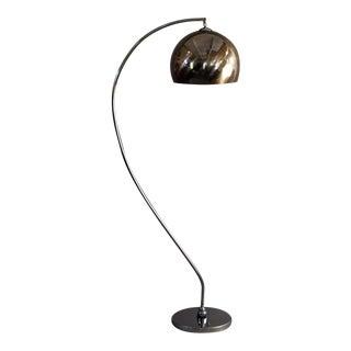 Mid-Century Articulating Chrome Floor Lamp