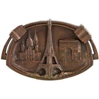 Vintage Paris Souvenir Ashtray