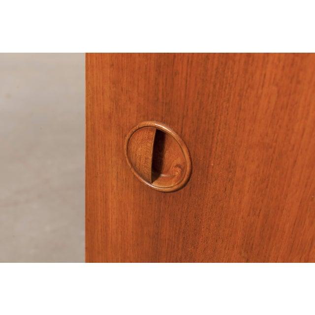 William Watting-Style Small Walnut Credenza - Image 9 of 10