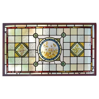 English Art Glass Window