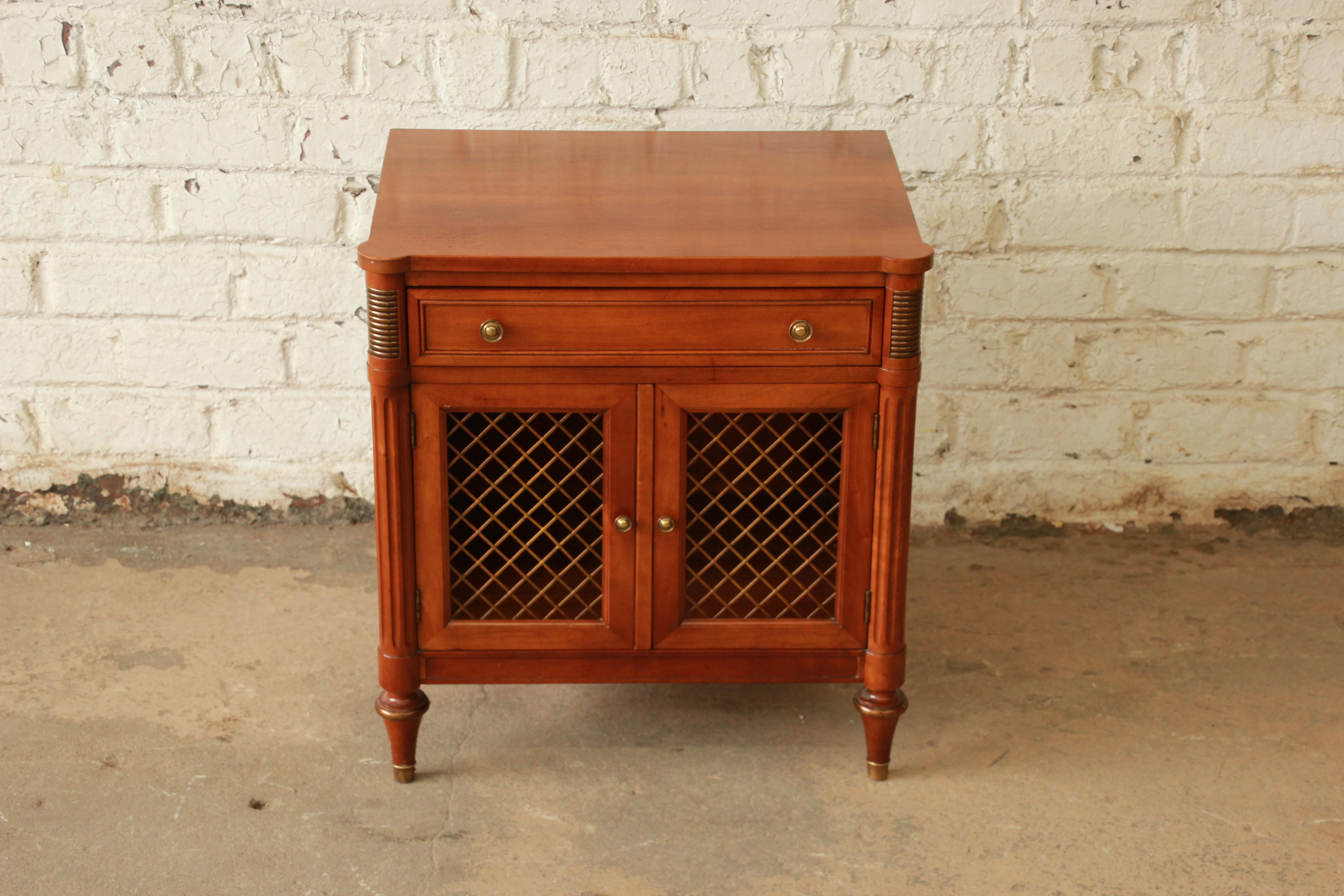 Kindel Furniture French Regency Style Nightstand   Image 3 Of 11