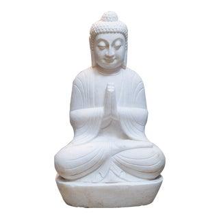 Marble Chinese Sitting Buddha