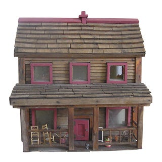 100 Year Old Antique Doll House
