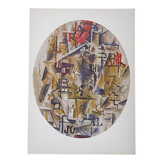 1964 Vintage Braque Lithograph for Derriere Le Miroir