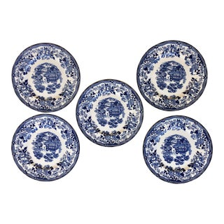 Royal Staffordshire Clarice Cliff Plates - Set of 5