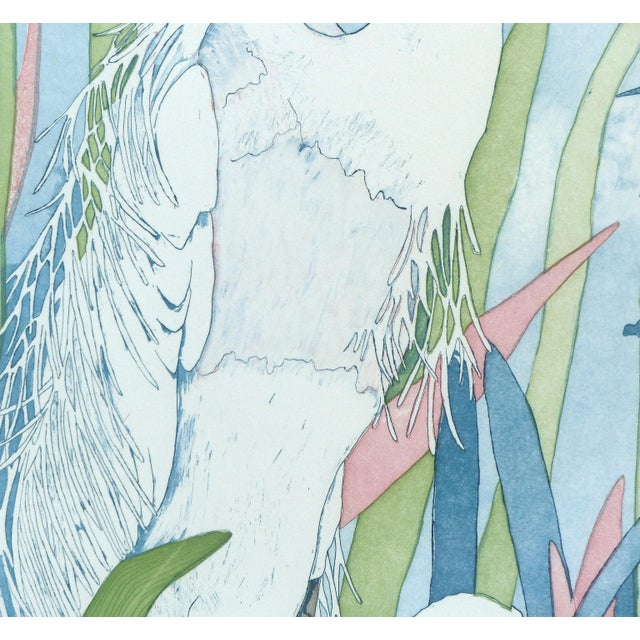 "Judith Hall ""The Rookery"" Intaglio Print - Image 3 of 10"