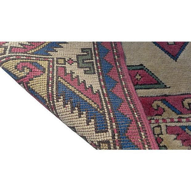 Turkish Hand-Knotted Wool Rug - 6′5″ × 4′3″ - Image 3 of 6