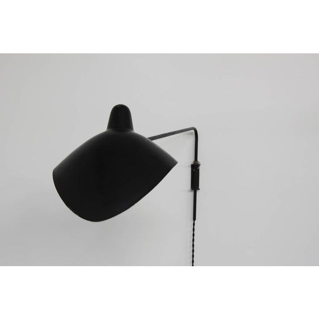 1953 Vintage Serge Mouille 'Casquette' Wall Light - Image 7 of 7