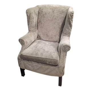 Lee Industries Washable Slipcover Wing Chair
