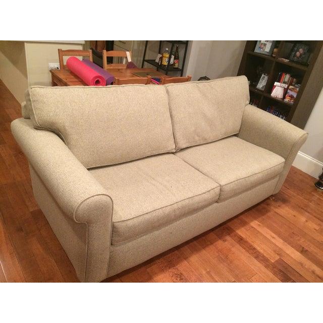 Natural Twill Sleeper Sofa - Image 8 of 8