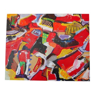 Journey to Taos Acrylic on Canvas