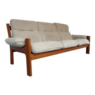 Norwegian Teak Sofa by Ekornes