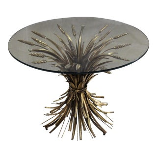 Coco Chanel Wheat Sheaf Table