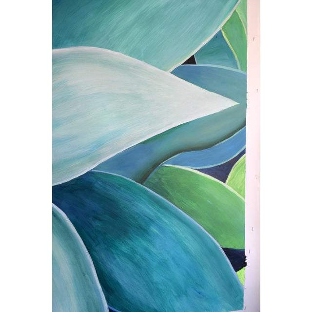 """Agave Number Five"" Acrylic Painting - Image 9 of 9"