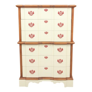 Chippendale Style Clown Dresser
