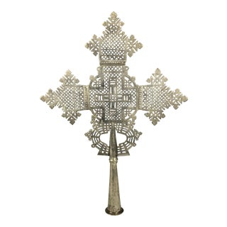 African Ethiopian Coptic Processional Cross