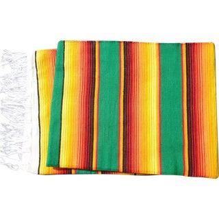 Southwestern Mexican Large Serape Blanket