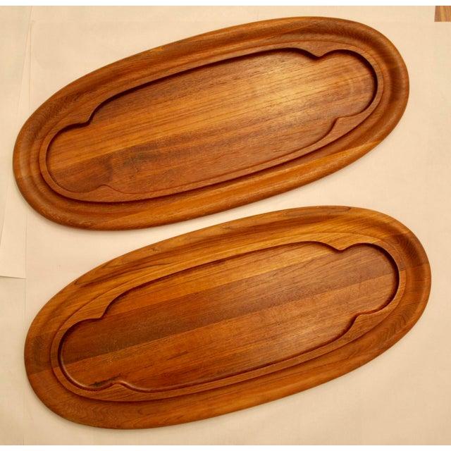 Teak Dansk Cheese Boards - A Pair - Image 2 of 5