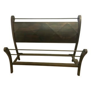 Bronze Queen Sleigh Bed