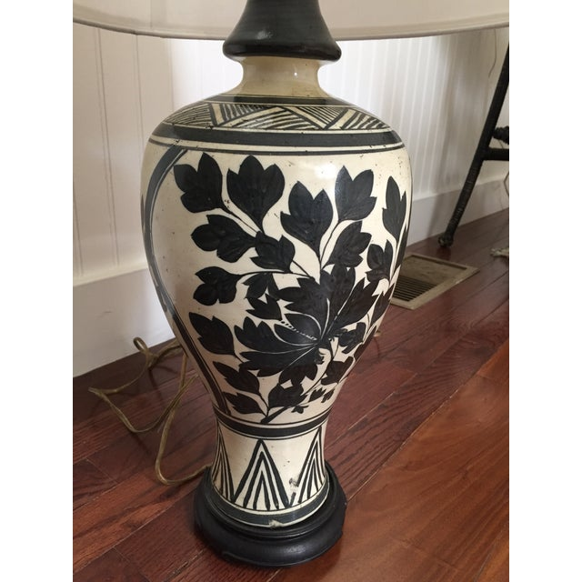 Vintage Chinese Meiping Lamp - Image 5 of 6