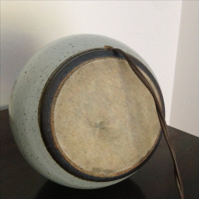 Mid-Century Modern Ceramic Lamp - Image 7 of 8